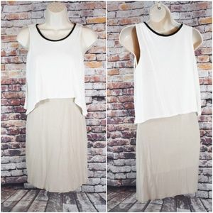 Mossimo XS Tank Dress Sleeveless Summer Layered